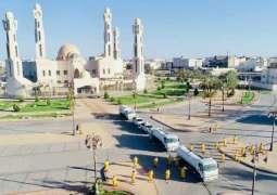 أمانة تبوك تعقم الساحات المحيطة بالمساجد وتواصل جولاتها الرقابية على المنشآت
