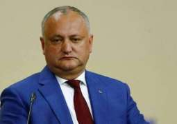 Moldovan President Says Not Planning to Resign Over Opposition's Demands