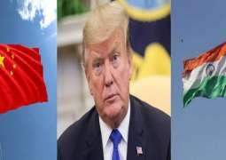 الصین ترفض الوساطة الأمریکیة في نزاع حدودي مع الھند