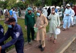 ارتفاع عدد الاصابات بفیروس کورونا الي 65317 حالة في باکستان