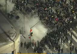 Los Angeles Police Declare Unlawful Assembly in City Center Over Violent Riots