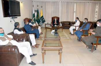 Trader's delegation calls on AJK President