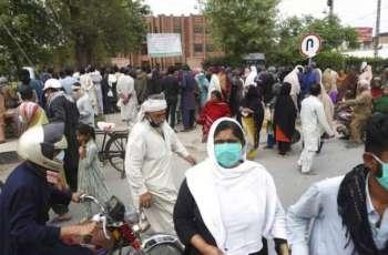 باکستان تسجل ارتفاع عدد الاصابات بفیروس کورونا المستجد الي 58687 حالة