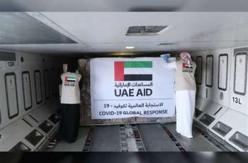 UAE sends medical aid to Tajikistan in fight against COVID-19