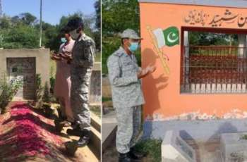 Pakistan Navy Continues Relief Operations Amid Covid-19 Surge