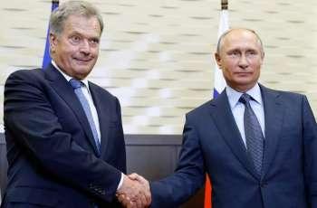 Putin, Niinisto, Discuss Arctic, Russian-Finnish Work on Coronavirus Response- Kremlin