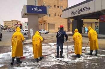 أمانة الجوف تنفذ 1188 جولة رقابية وتُطهر 1300 موقع في أيام العيد