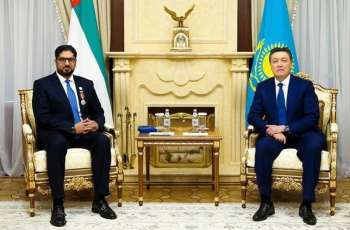 President of Kazakhstan awards Order of Friendship to UAE Ambassador