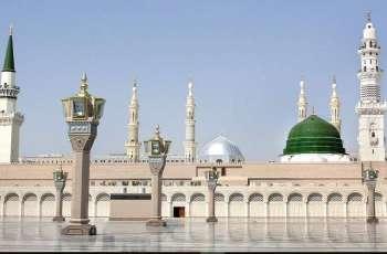 وکالة الرئاسة العامة لشوٴون المسجد النبوي تقرر استمرار تعلیق حضور المصلین