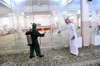 50 جامعاً ومسجداً بمركز الشقيق تكمل استعداداتها لاستقبال المصلين غداً