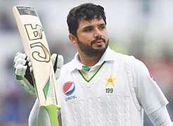 Pakistan Test Captain Azhar Ali sells his bat and shirt against Rs. 2.2 million