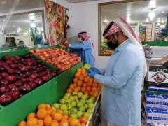 بلدية شعبة نصاب بالحدود الشمالية تنفذ جولة رقابية على المنشآت الغذائية بالعيد