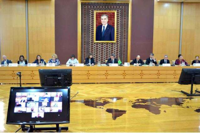 """A briefing entitled """"International cooperation of Turkmenistan in the healthcare sphere"""" was held in Ashgabat"""