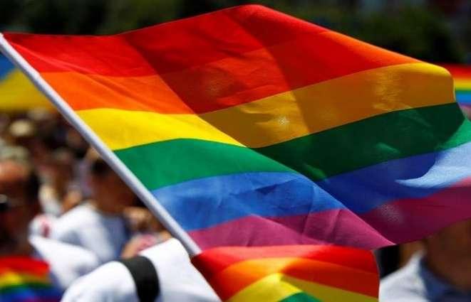 رفع علم المثلین رسمیا في العراق لأول مرة في تاریخھا
