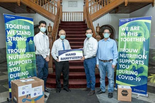 Multinational company donates masks and sanitizers to UVAS