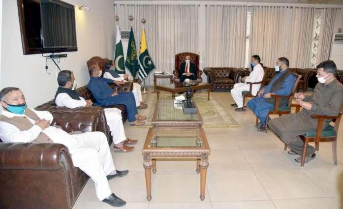 Trader's delegation calls on AJK President