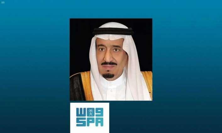 خادم الحرمين الشريفين يهنئ الرئيس اليمني بذكرى يوم الوحدة لبلاده