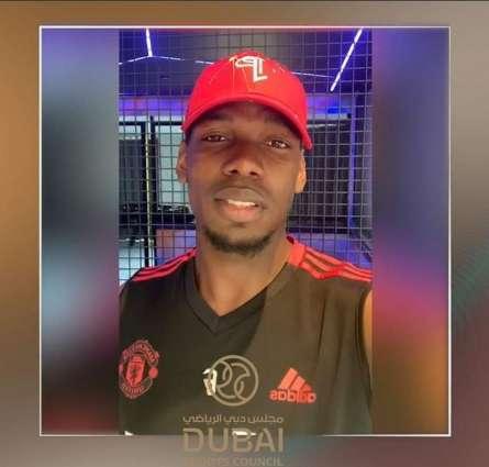 Pogba sends Eid greetings through Dubai Sports Council