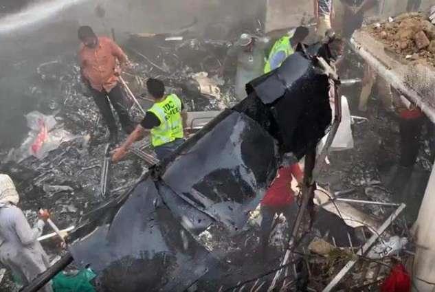 Govt constitutes team to probe PIA plane crash