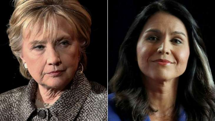 Ex-US Presidential Candidate Gabbard Retracts Defamation Lawsuit against Hillary Clinton