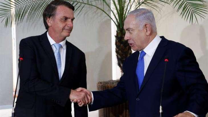 Israel's Netanyahu Offers Brazil's Bolsonaro Cooperation on Tackling Coronavirus