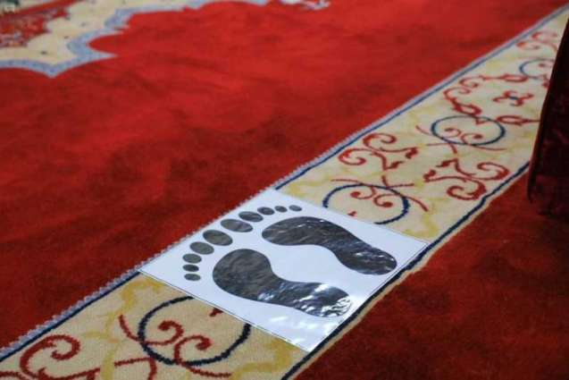 مساجد وجوامع محافظة طريف تكمل جاهزيتها لاستقبال المصلين وسط تطبيق الإجراءات الوقائية