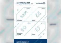أكاديمية دبي للمستقبل تستقطب نحو 5000 شخص من 90 دولة ضمن سلسلة الرواد في رمضان