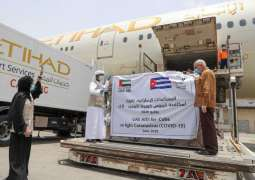 UAE sends medical aid to Cuba in fight against COVID-19
