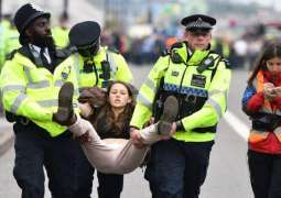 London Police Arrest 13 People Following George Floyd March, at Least 2 Officers Injured