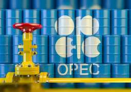 OPEC daily basket price stood at $34.84 a barrel Thursday