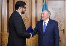 Kazakh President Receives UAE Ambassador