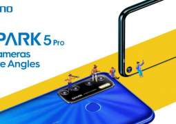 """TECNO Launched SPARK 5 Pro: 5 Cameras, 5000mAh Battery &6.6"""" HD Display"""