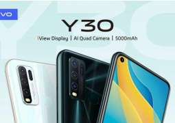 vivo Y30 brings the Latest Innovations to the Budget Segment in Pakistan