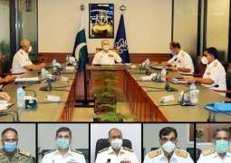 Naval Chief Heads Command & Staff Conference At Naval Headquarters, Islamabad