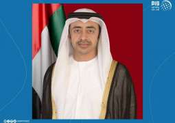 Cooperation, solidarity underline key element in the fight against COVID-19: Abdullah bin Zayed