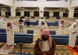 أكثر من 1500 مسجد في مكة المكرمة تكمل جاهزيتها لاستقبال المصلين غدا