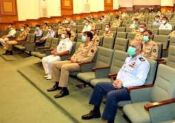 Naval Chief Addresses At National Defence University