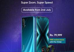 Realme's flagship device realme X3 SuperZoom Launched in Pakistan. Pre Order Today& get Free realme Fitness Band!