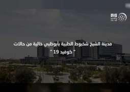 """مدينة الشيخ شخبوط الطبية بأبوظبي خالية من حالات """" كوفيد 19 """""""
