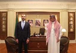 سفير خادم الحرمين الشريفين لدى لبنان يستقبل وزير الدولة اللبناني السابق لشؤون تكنولوجيا المعلومات