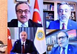 Masood Khan urges Turkey to play the role of mediator to resolve Kashmir dispute.