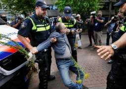 The Hague Police Detain 37 People for Participation in Unauthorized Rally