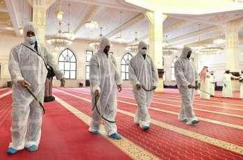 مدير عام فرع وزارة الشؤون الإسلامية بمنطقة مكة المكرمة يتفقد استعدادات مساجد جدة لاستقبال المصلين