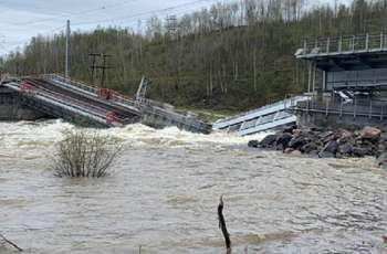 Railroad Bridge Linking Murmansk to Rest of Russia Partially Collapses - Authorities