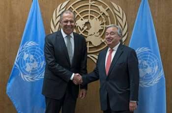 Lavrov, UN Chief Discuss COVID-19, Developments in Syria, Libya - Russian Foreign Ministry