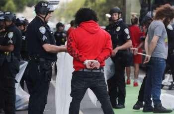 New York City Police Arrest Over 400 People After Violent Protests Sunday - Commissioner
