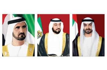 UAE leaders congratulate Italian President on Republic Day