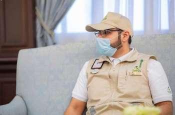 سمو أمير الباحة يستقبل مدير عام الشؤون الصحية بالمنطقة