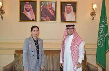 سفير المملكة لدى لبنان يستقبل الأمينة التنفيذية للّجنة الاقتصادية والاجتماعية لغربي آسيا