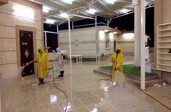 أمانة الشرقية تُواصل أعمال التعقيم في المساجد والجوامع بمحافظة الخفجي